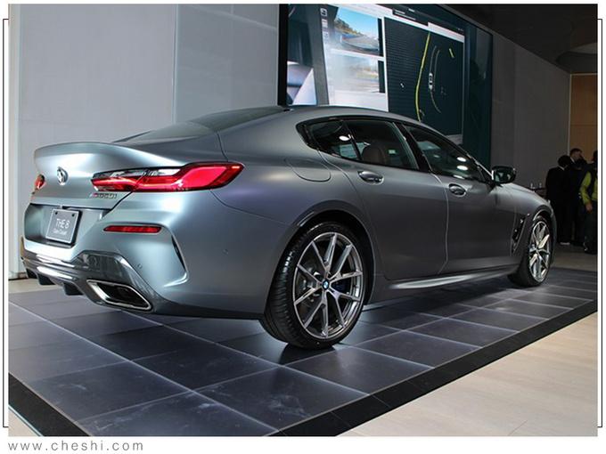 宝马全新8系到店实拍 4.4T引擎/轴距超奔驰GT63-图3