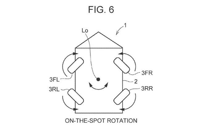 丰田全轮转向专利曝光横移停车原地旋转不是梦-图4