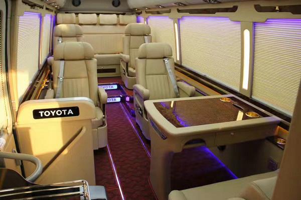 丰田考斯特15座客车新优惠 选装真皮座椅-图9
