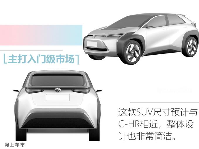 丰田两款全新电动车曝光 这款SUV比汉兰达还大-图7