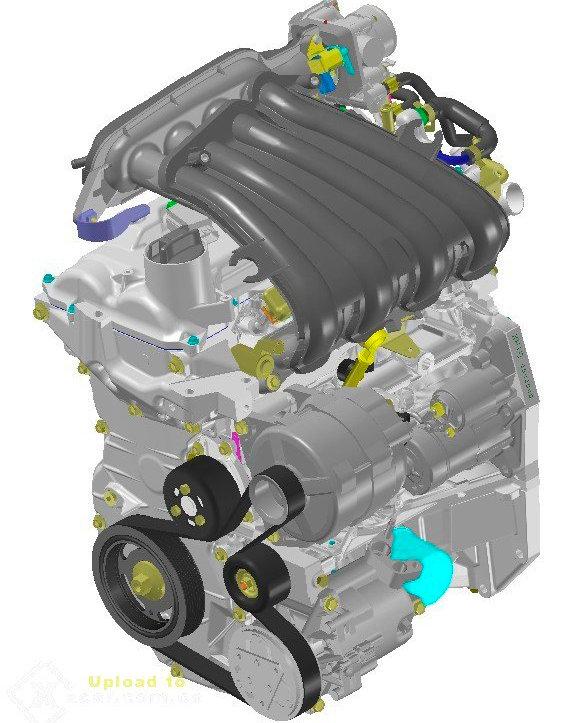 内部结构分析骊威hr16de发动机的特点 车主必看