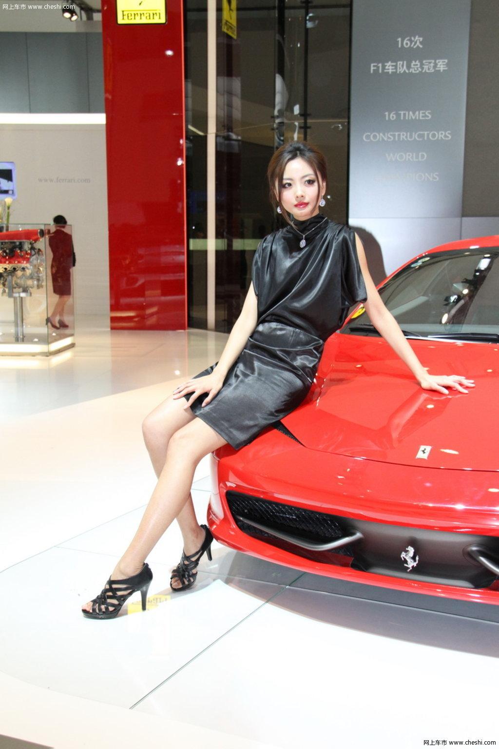 途观2010北京车展 模特图片