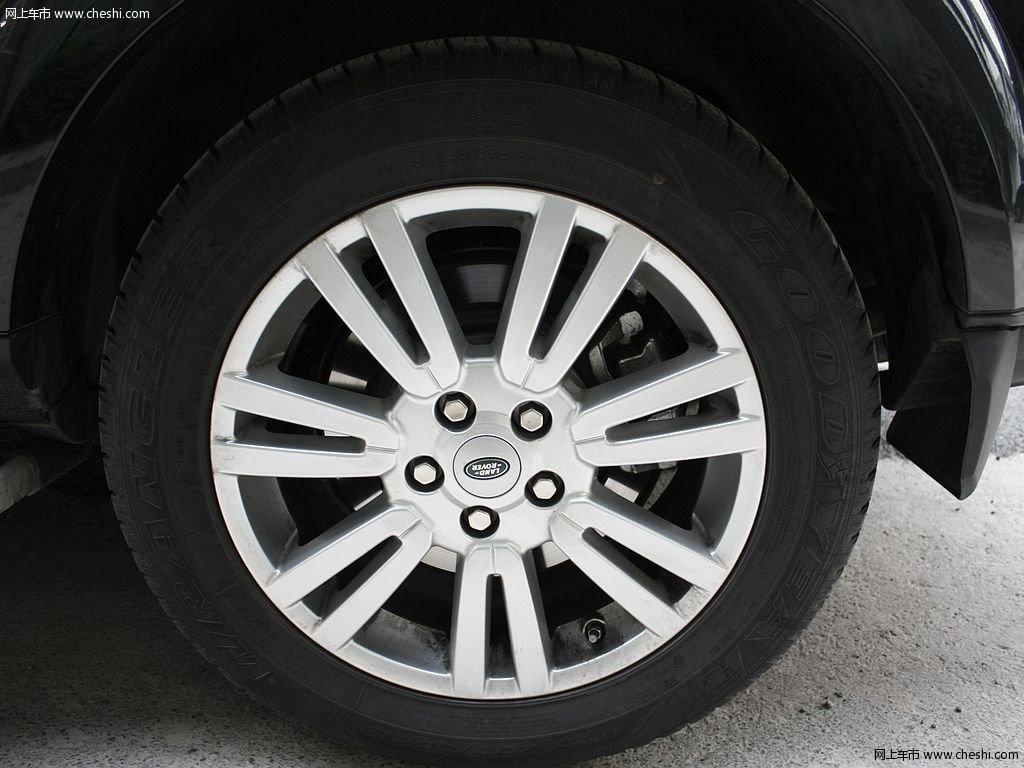 圣托里尼黑路虎发现 2012款 5.0 自动HSE汽油版 7座外观细节高清图片高清图片