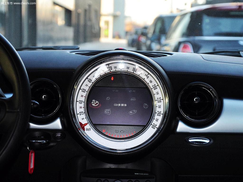 辣椒红mini coupe 2012款 1.6t atcouper s版内饰中控图片
