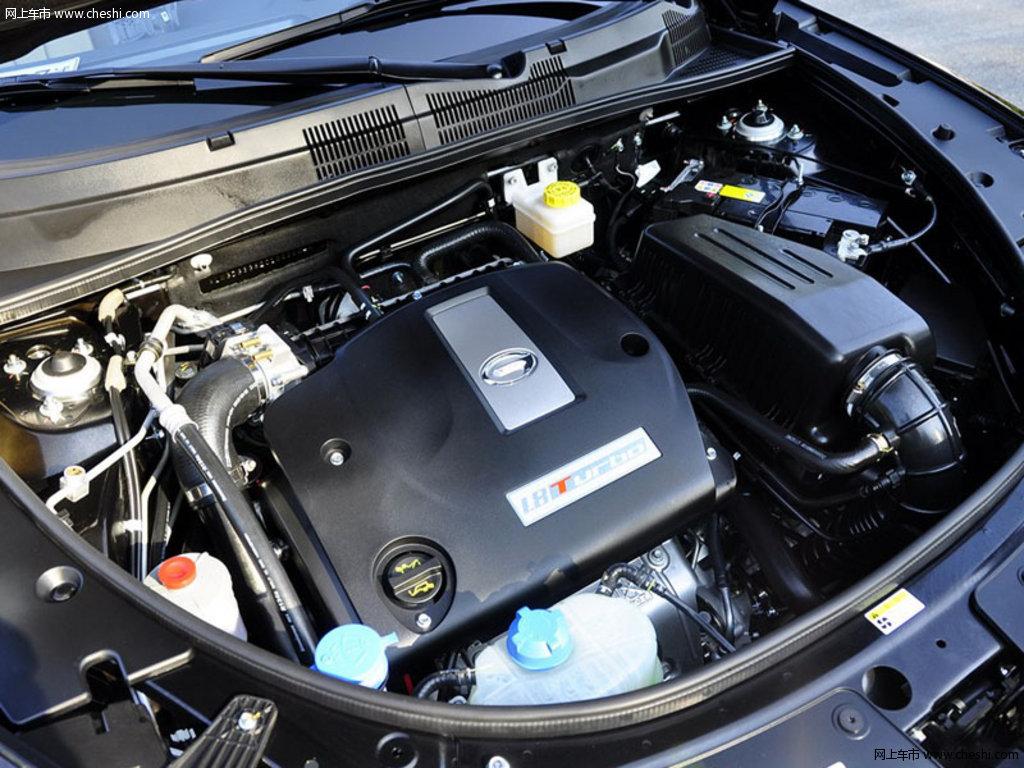 典雅黑传祺GS5 2013款 1.8T 自动四驱至尊版 5座动力底盘高清图片 4 高清图片