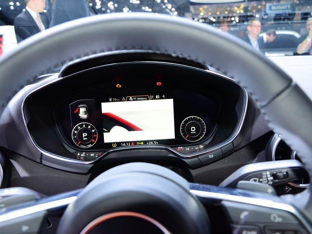 奥迪tt中控方向盘高清图片(12/46)_网上车市(大图)
