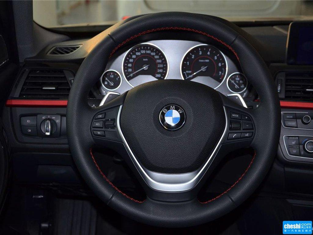 宝马3系 2015款 328ixdrive运动设计套装内饰中控图片