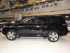 广汽丰田  汉兰达 2.7 AT 车辆左正侧视角