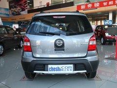 东风日产  骊威 1.6GX AT 车辆正后方尾部视角