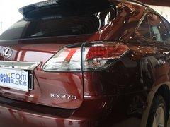 雷克萨斯  RX270 2.7 AT 车辆右后大灯45度视角