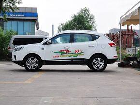 江淮汽车  2.0T 手动 车辆左正侧视角