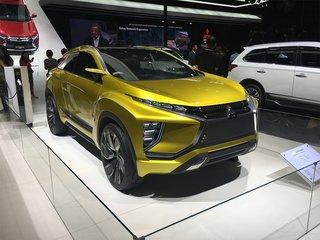 三菱eX概念车图片