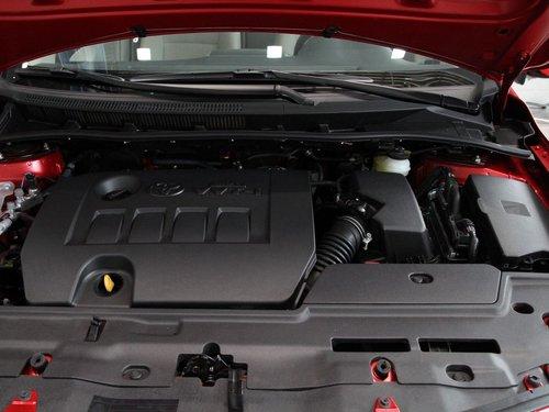 一汽丰田  卡罗拉 1.6 AT 发动机主体特写