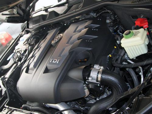 大众(进口)  途锐 V6 TSI 发动机局部特写