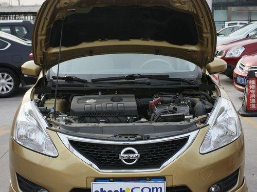 东风日产  新骐达 1.6L CVT 发动机局部特写