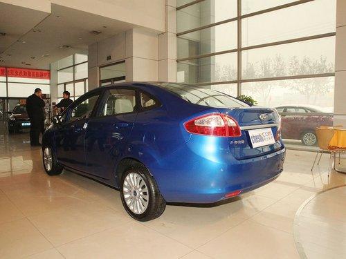 福特新嘉年华三厢 小改款/巴西车展亮相