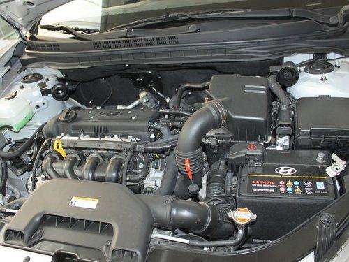 北京现代  1.6L 自动 发动机主体特写