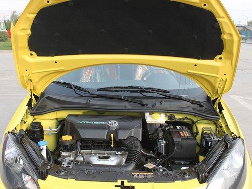 MG  MG3 Xross 1.5 AMT 发动机局部特写