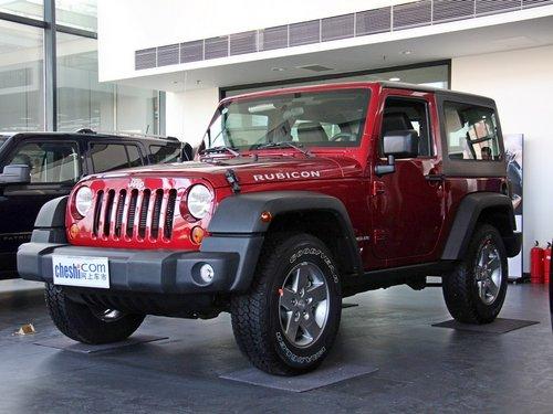 jeep吉普 牧马人 3.6l 车辆左前45度视角 高清图片