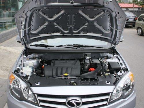 东南汽车  1.5L CVT 发动机局部特写