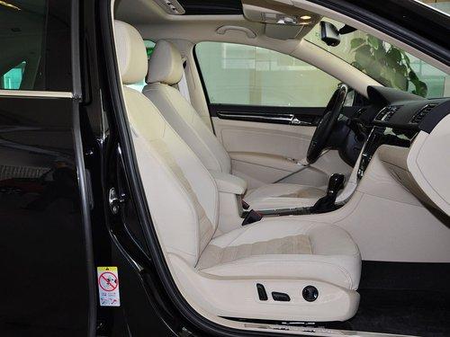 上海大众 3.0l dsg 副驾驶座椅正视图