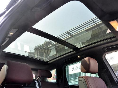 大众(进口)  V6 3.0TSI 自动 车顶内部特写