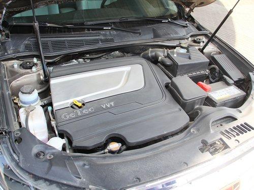 吉利帝豪  2.4L 自动 发动机局部特写