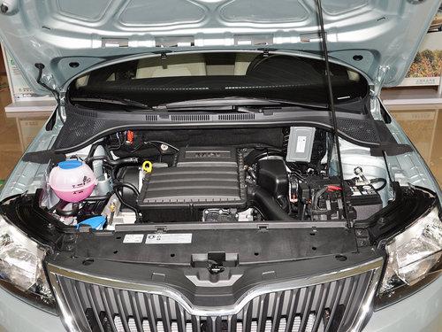 斯柯达  1.6L 手动 发动机局部特写
