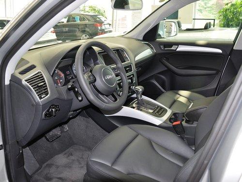 一汽奥迪  40 TFSI quattro 中控台左侧