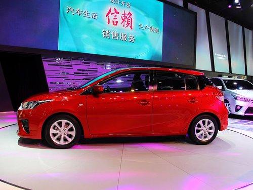 广汽丰田  1.5GS 自动 车辆左正侧视角