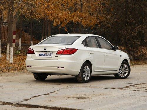 长安乘用车  1.6L 手动 车辆右侧尾部视角