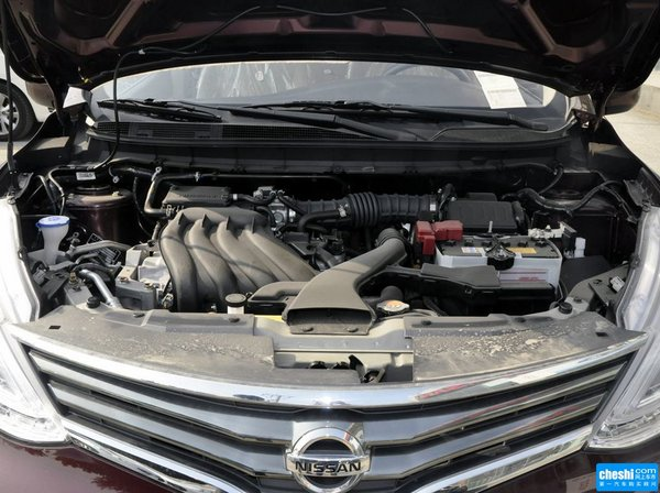 东风日产  1.6L 手动 发动机标识