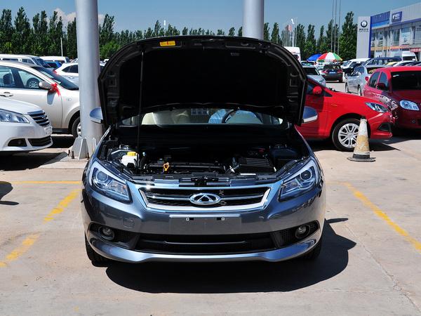 奇瑞汽车  1.6DVVT 手动 车辆发动机舱整体