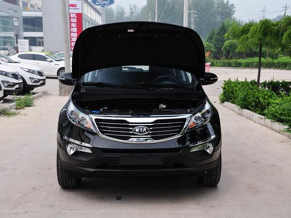 东风悦达起亚  GLS 2.0L 手动 车辆发动机舱整体