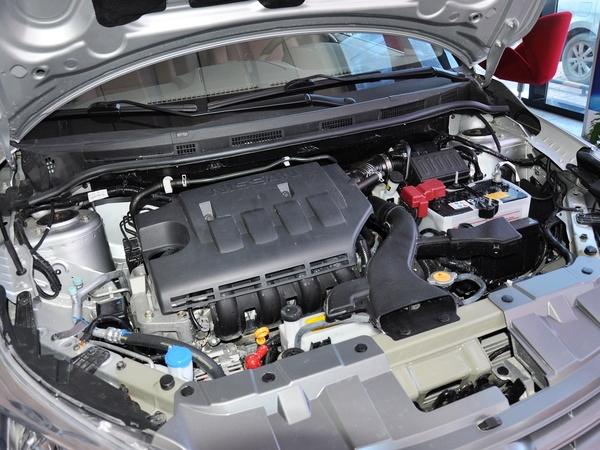 东风日产-启辰  1.6L 手动 发动机主体特写
