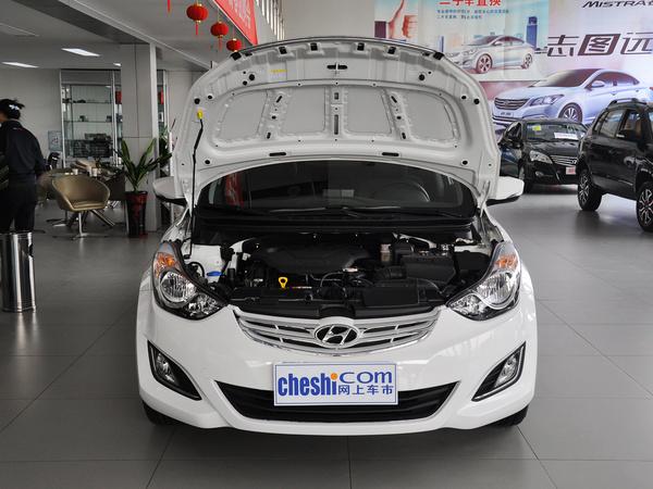 北京现代  1.6L 自动 车辆发动机舱整体