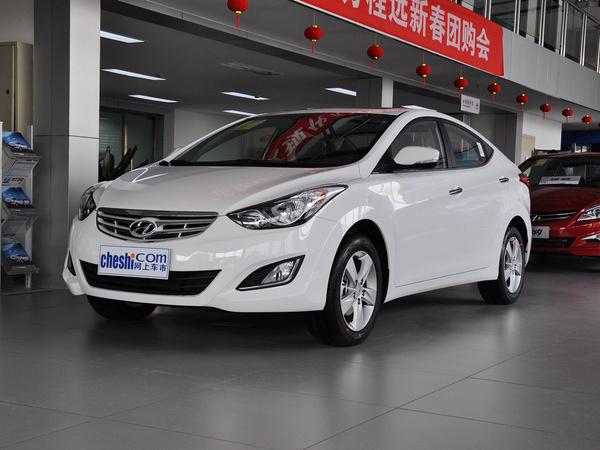 北京现代  1.6L 自动 车辆左前45度视角