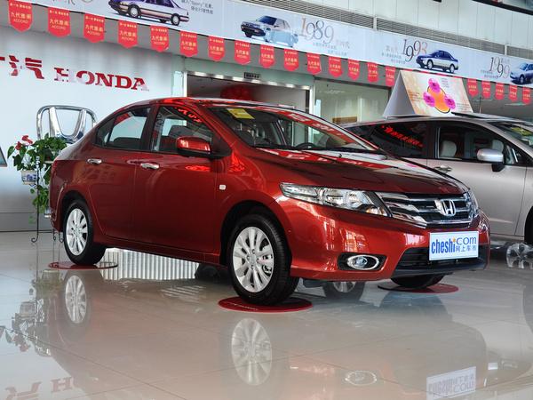 广汽本田  风尚 1.5L 自动 车辆右侧45度角
