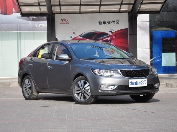 东风悦达起亚  1.6L 自动 车辆右侧45度角
