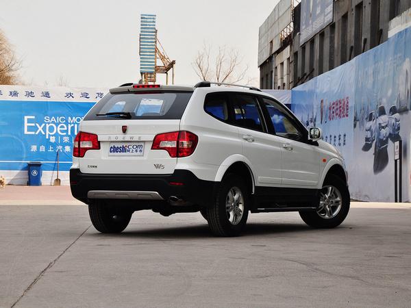 上汽荣威  1.8T 2WD 车辆右侧尾部视角