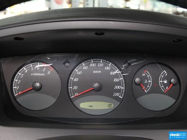 上汽荣威  1.8T 4WD 方向盘后方仪表盘