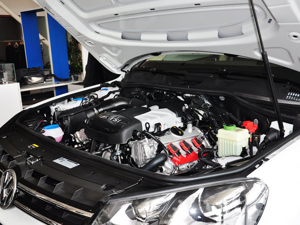 大众(进口)  3.0TSI 发动机主体特写