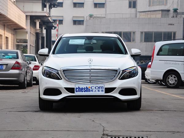 北京奔驰  C 180 L 车头正面视角