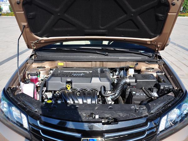 吉利汽车  三厢 1.5L 手动 发动机局部特写
