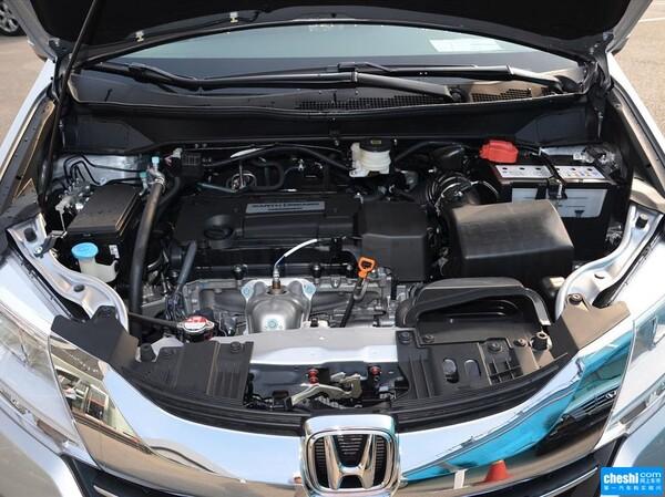 广汽本田  2.4L CVT 发动机局部特写