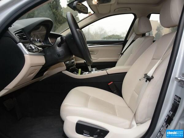 华晨宝马  530Le 副驾驶座椅正视图