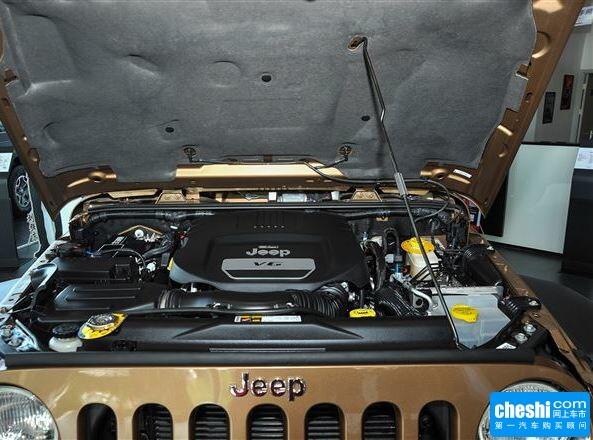 Jeep  3.6L 自动 发动机标识