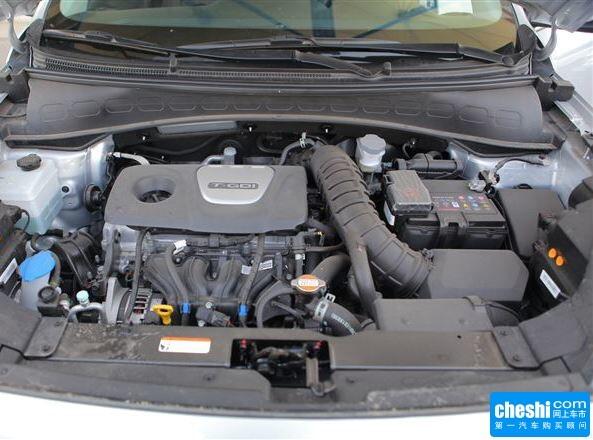 东风悦达起亚  1.6L 自动 发动机标识