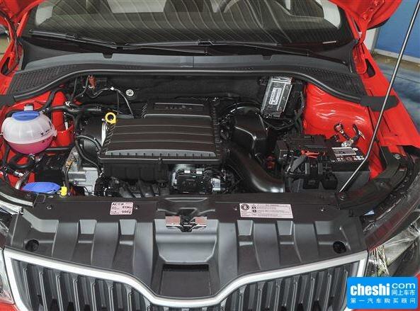 斯柯达  1.4L 手动 发动机局部特写