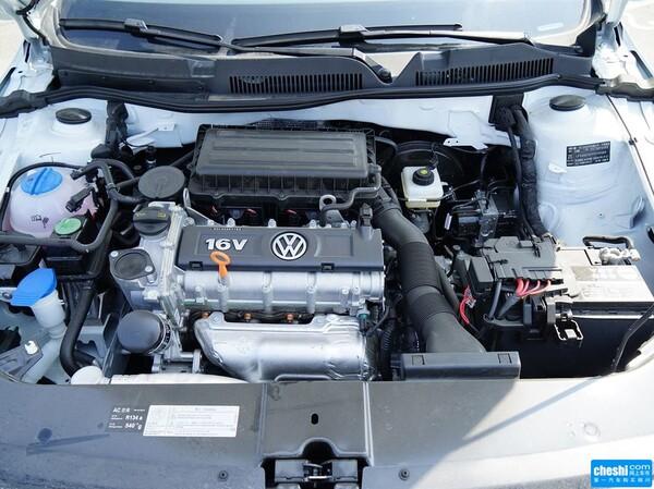 一汽-大众  质惠版 1.6L 自动 发动机局部特写